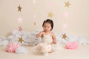photographer albany ny - twinkle litle star cake smash