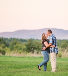 saratoga battlefield engagement photo