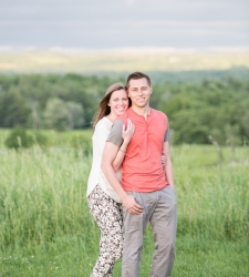 engagement photo saratoga ny