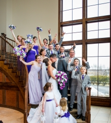 shaker ridge country club wedding photo