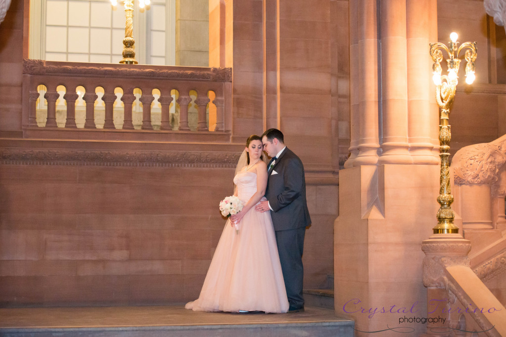 capitol building in albany ny wedding photo
