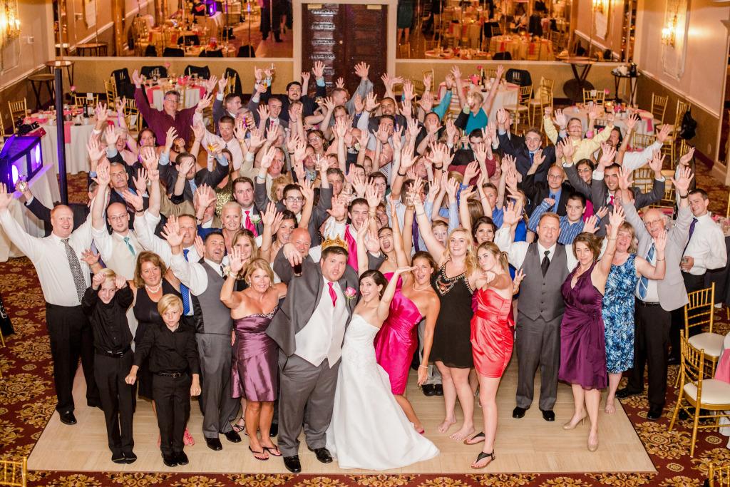 mallozzis wedding photo