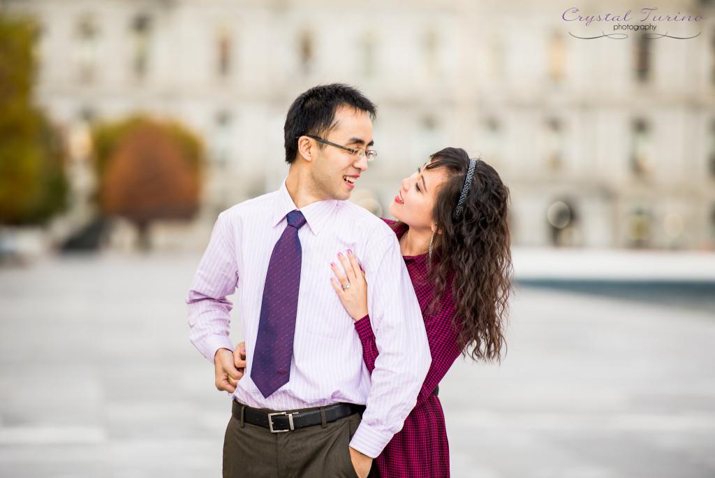 albany ny photographer - downtown albany ny engagement