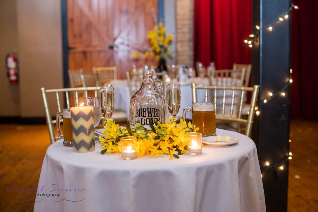 browns brewery wedding photo