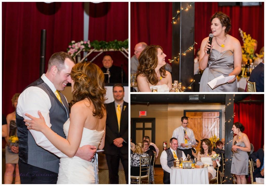 browns brewery wedding reception