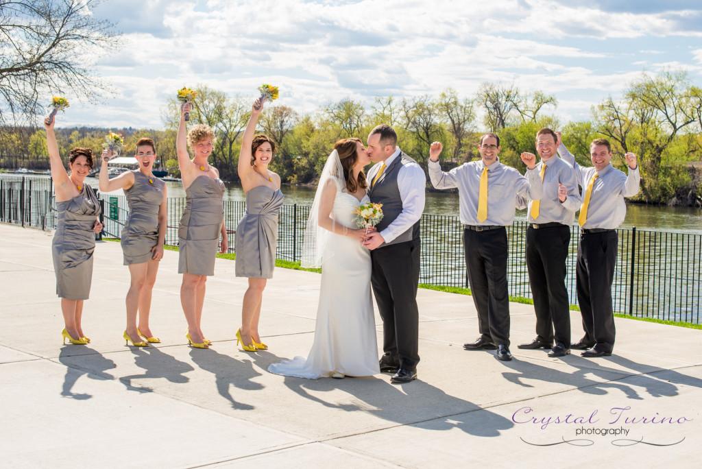 browns brewing wedding