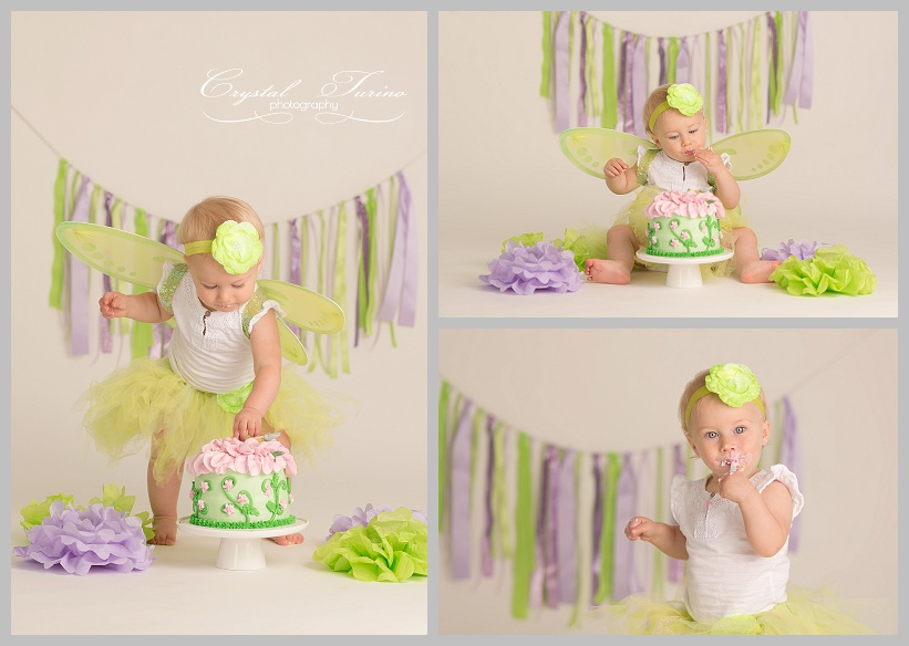 cake smash 1st birthday photography